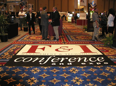 Entrance to the F&I Conference's exhibit hall