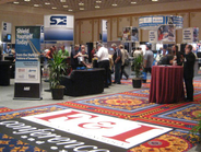 The conference touted more than 40 exhibitors and more than 7,700-square-feet of exhibit space.