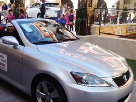 Lexus of Las Vegas appeared in a local parade.
