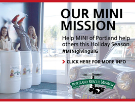 MINI of Portland is giving big.