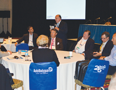 The first day of Compliance Summit concluded with an open forum-like session featuring the...