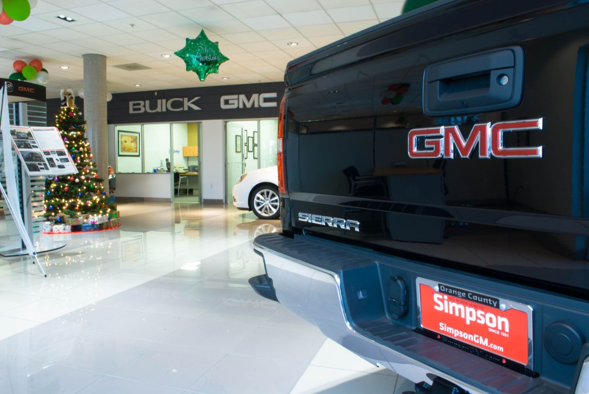 There's no place like Simpson Buick GMC for the holidays.