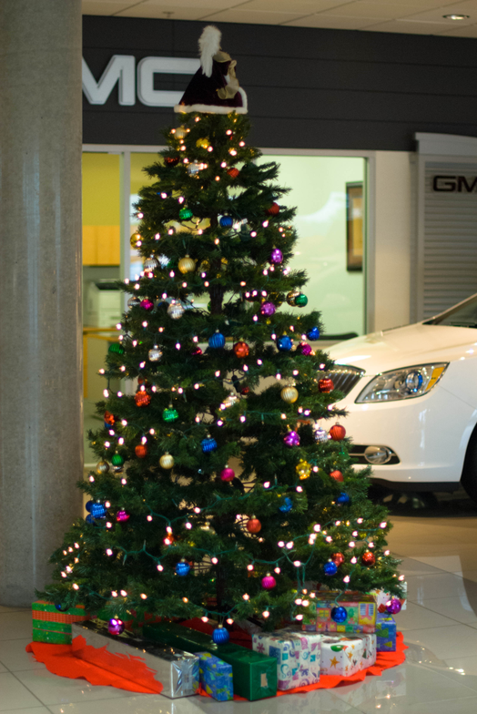 Simpson Buick GMC of Buena Park is ready for the holidays.