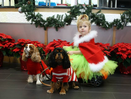 Thompson Auto customers (and kids and pets) have a great place to snap some holiday pics.