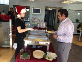 Toyota Santa Monica cooks up a holiday feast.