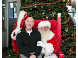 Toyota/Scion of Hollywood hosted a Breakfast with Santa.