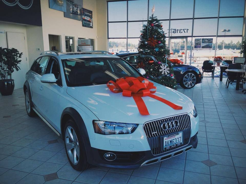 University Audi of Lynnwood (Washington) knows just what is at the top of everyone's wish list.