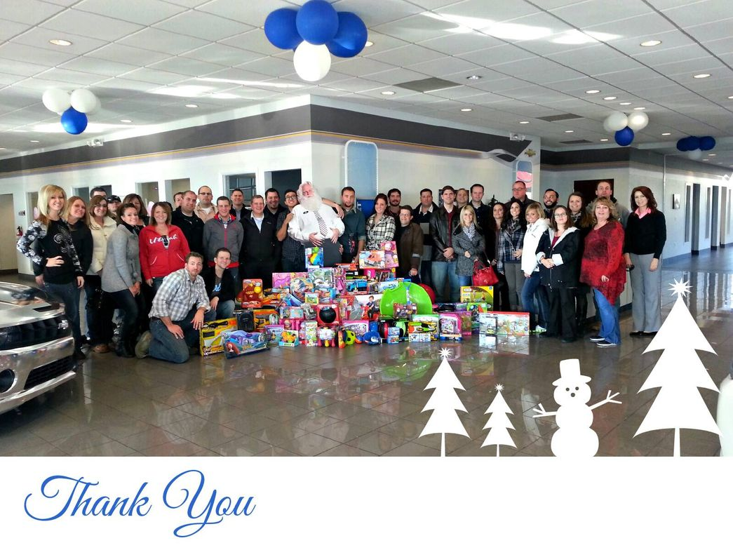 Young Chevrolet hosted a very successful Toys for Tots collection, which included a generous...