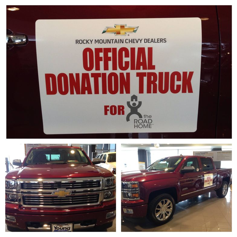 In conjunction with Rocky Mountain Chevy Dealers, Young Chevrolet is also collecting items for...