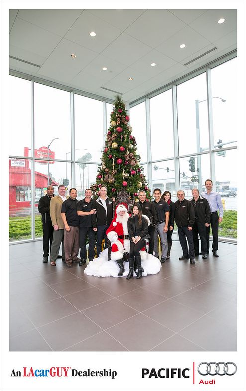 Pacific Audi is making its wish list for Santa.