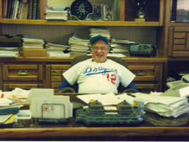 Though his Dodgers occasionally let him down, Ed had season tickets for years and would always...
