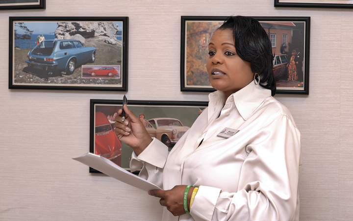 Marva Laws joined Volvo Cars Annapolis as business manager after forging a career as a top-performing salesperson and special finance manager.