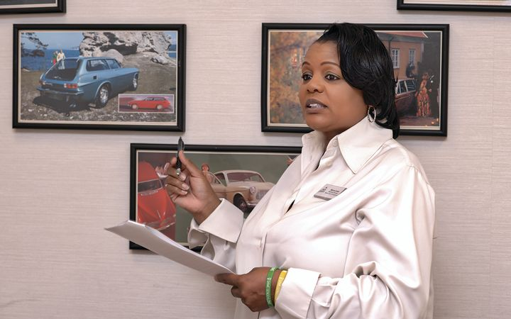Marva Laws joined Volvo Cars Annapolis as business manager after forginga career as a top-performing salesperson and special finance manager.  -