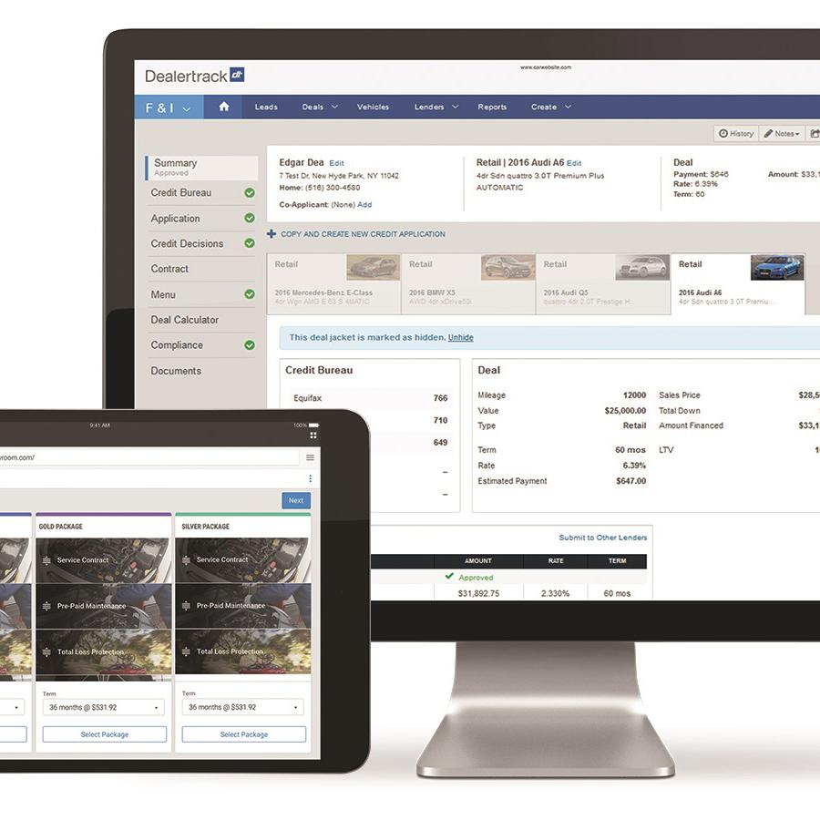 Dealertrack Launches 'Seamless' F&I Platform