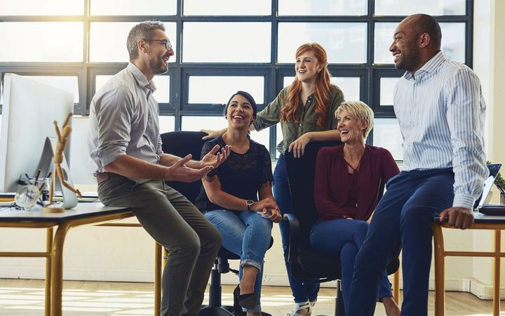 If employees are happy at work, this will translate to your customers, which ultimately leads to increased sales and profitability. - IMAGE: Getty Images