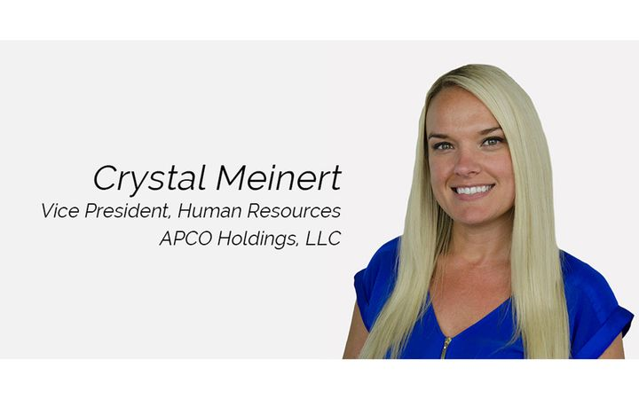 In her new role as a member of the APCO Holdings executive leadership team, Crystal will lead the HR function, overseeing all department operations and championing on the company's people-focused initiatives. - IMAGE: APCO Holdings