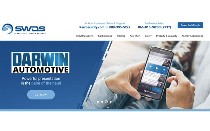 SWDS becomes a Preferred Partner for Darwin's premier F&I Presentation Software, and digital retailing and consumer self-service tool.  -