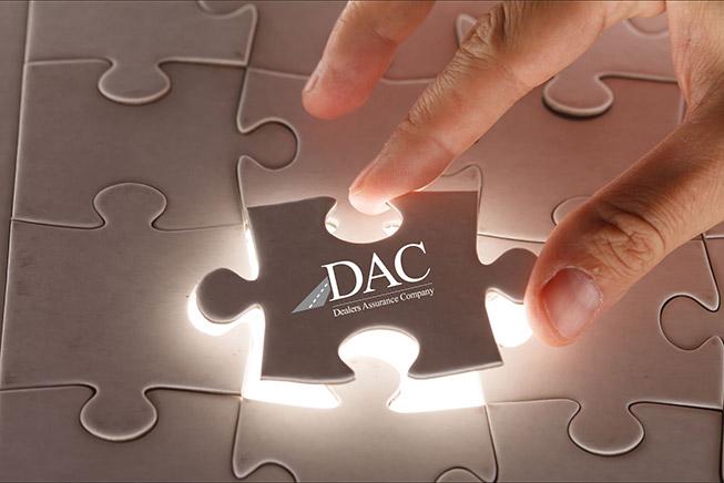DAC puzzle logo