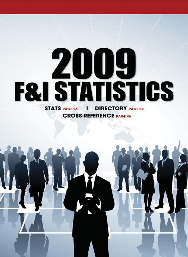 2009 F&I Statistics